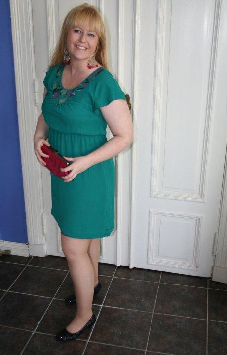 Astrid green dress